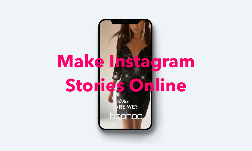How to make Instagram stories online
