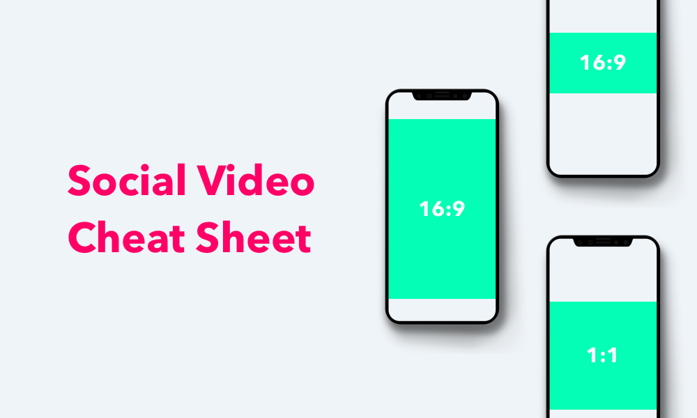 Social media video aspect ratios