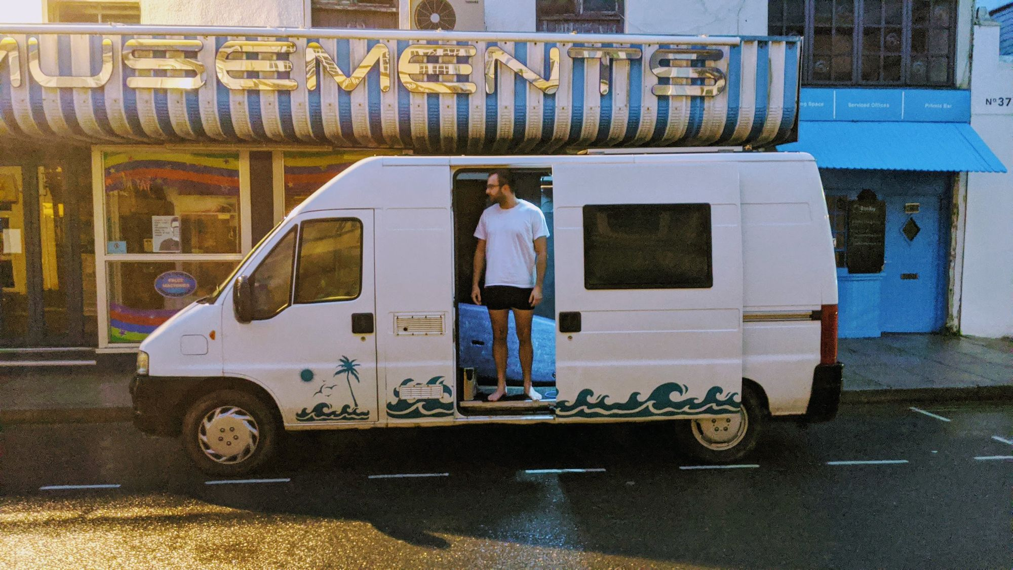 Running a startup from a camper van